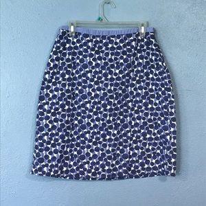Purple Polka Dot Boden Skirt